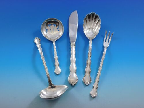 Tara by Reed & Barton Sterling Silver Essential Serving Set Small 5-piece