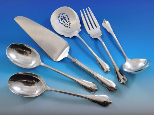 Grand Colonial by Wallace Sterling Silver Essential Serving Set Large 6-piece