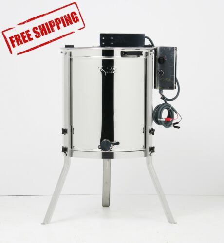 OZ ARMOUR 4 Frame Electric Honey Extractor Beekeeping Spinner European Made