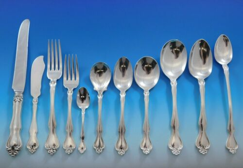 George and Martha by Westmorland Sterling Silver Flatware Set for 8 Service 95pc