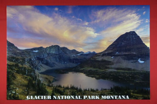 Glacier National Park Montana History Mountain Picture Poster 24X36 NEW   GLAC
