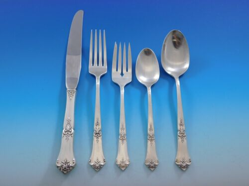 Stately by State House Sterling Silver Flatware Set for 6 Service 30 Pieces