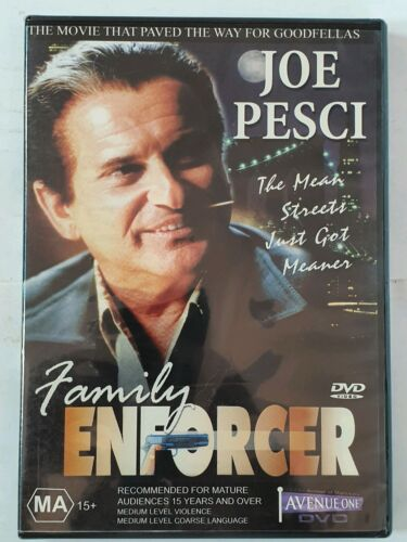 Family Enforcer - Joe Pesci - DVD - Free Postage brand new and sealed