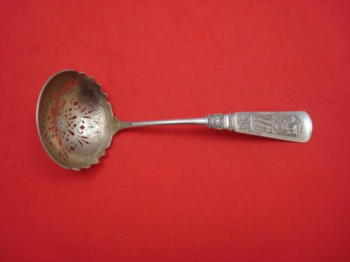 """Fontainebleau by Gorham Sterling Silver Sugar Sifter Ladle Gold-washed 7 1/4"""""""