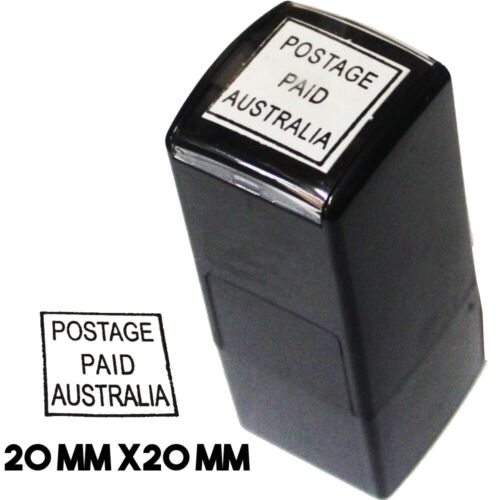 AusPost Stamp Postage Paid Australia inked Stamp - imprint for  Business Account