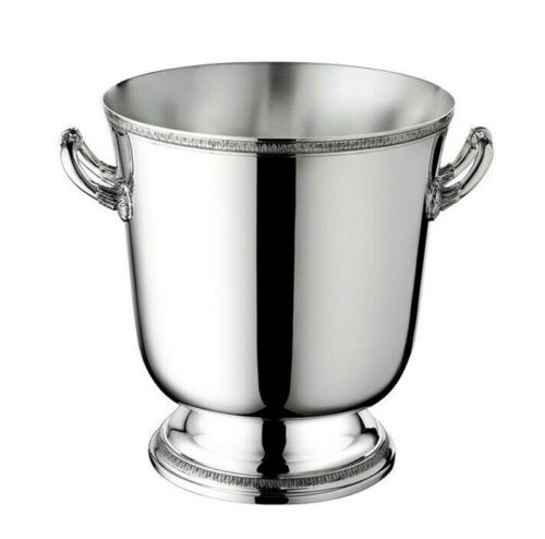 Malmaison by Christofle France Paris Silver Plate Ice Bucket / Cooler - New