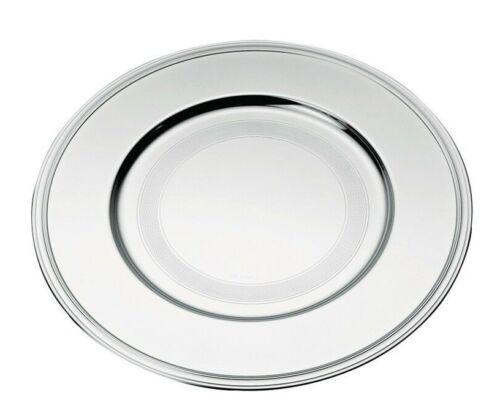 Albi by Christofle Paris France Silver Plated Charger Plate / Underplate New