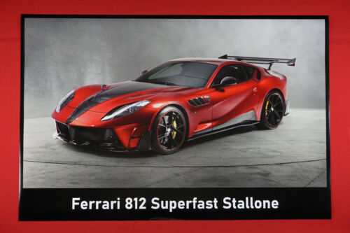 Ferrari 812 Superfast Stallone Sports Muscle Car Poster Picture 24X36 NEW   F812