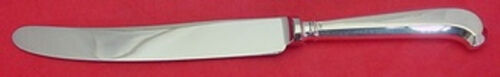Queen Anne by CJ Vander Sterling Silver Dinner Knife Pistol Grip w/Ridges 9 3/4""