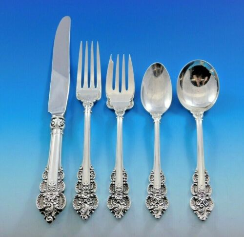 Botticelli by Frank Whiting Sterling Silver Flatware Set Service 32 pieces