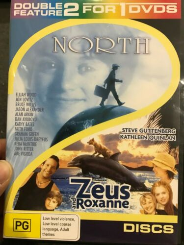 North (1994)  / Zeus And Roxanne (1997) region 4 DVD (family movies) 2 discs