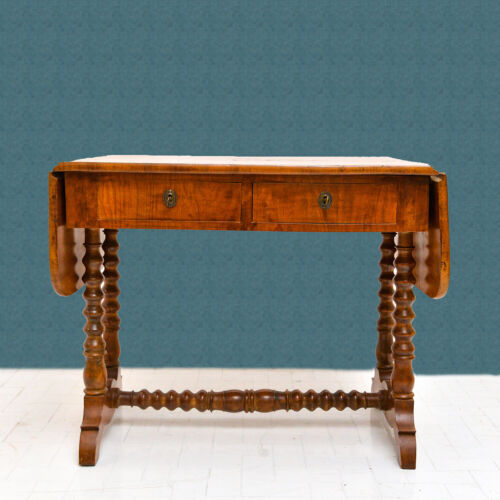 Tavolino a bandelle '800, Table with strips 1800s