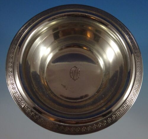 """Etruscan by Gorham Sterling Silver Finger / Snack Bowl #9865 1 5/8"""" X 5"""" (#1124)"""