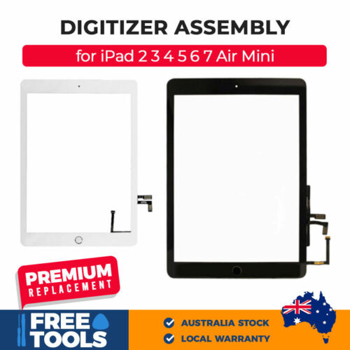 New iPad 2018 6th Gen Digitizer Touch Screen Replacement with Free Tools
