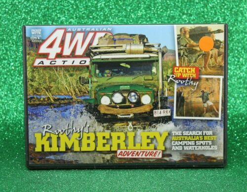Australian 4WD Action (DVD, 2011) Roothy's Kimberley Adventure 🥳 R 0 #189 PAL
