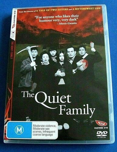 THE QUIET FAMILY DVD Region 4 (South Korean Black Comedy) see below