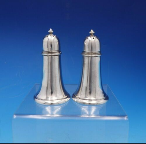 Old French by Gorham Sterling Silver Salt and Pepper Shaker Set 2pc #130 (#4711)