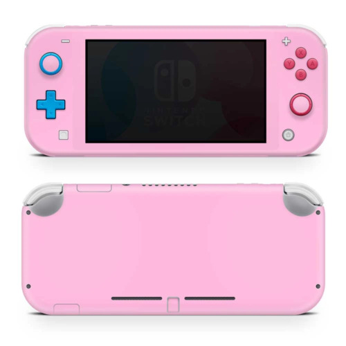 Pink Vinyl Skin Sticker Wrap to Cover Switch Lite