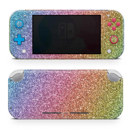 Rainbow Ombre Vinyl Skin Sticker Wrap to Cover Switch Lite