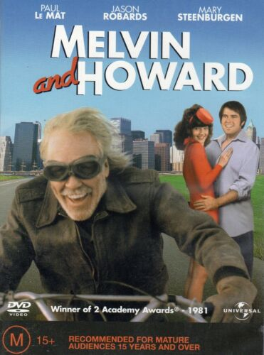 MELVIN AND HOWARD - Paul Le MAT- DVD- R2&4-N&S-Never played!-Original Oz release