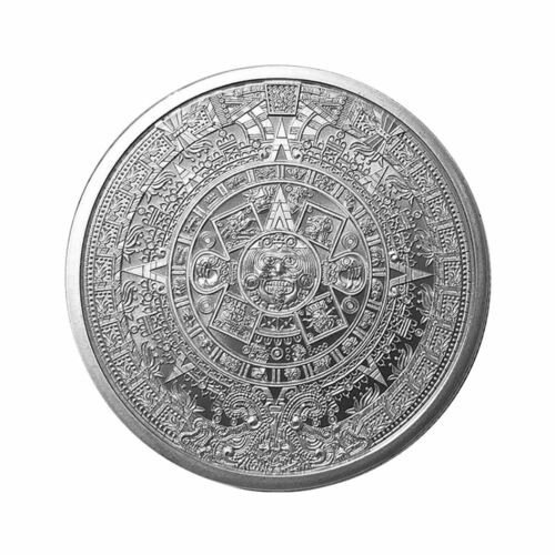 Golden State Mint Aztec Calendar 1 oz Silver Round GEM BU SKU55694 <br/> Buy With Confidence from ModernCoinMart (MCM) on ebay