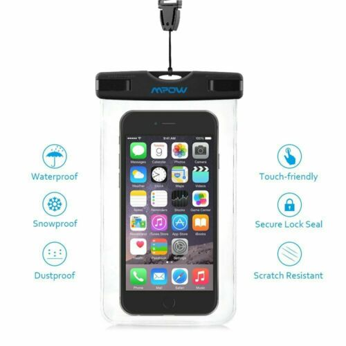 Mpow® Waterproof Underwater Phone Pouch Cover Case Dry Bag Protector For Mobiles
