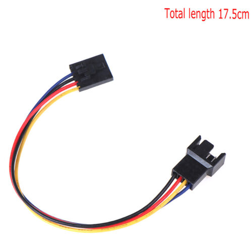 1pc 5Pin to 4Pin Fan Connector Adapter Converter Extension Cable Wire LaptopSE