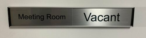 Office Door Sign - Sliding In/Out Large 50mm
