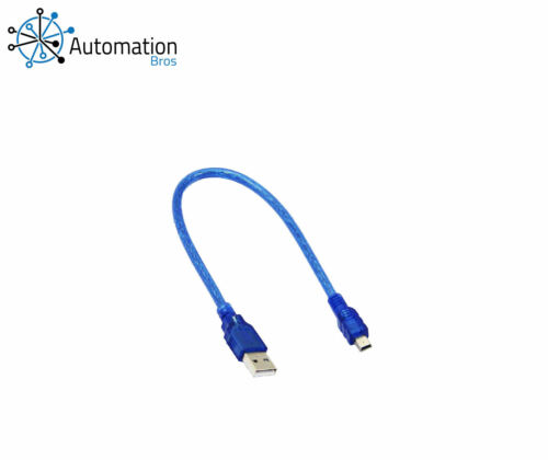 USB A to Mini B Cable 30cm