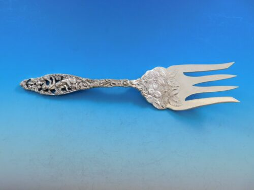 Labors of Cupid by Dominick and Haff Sterling Silver Buffet Fork w/ Berries