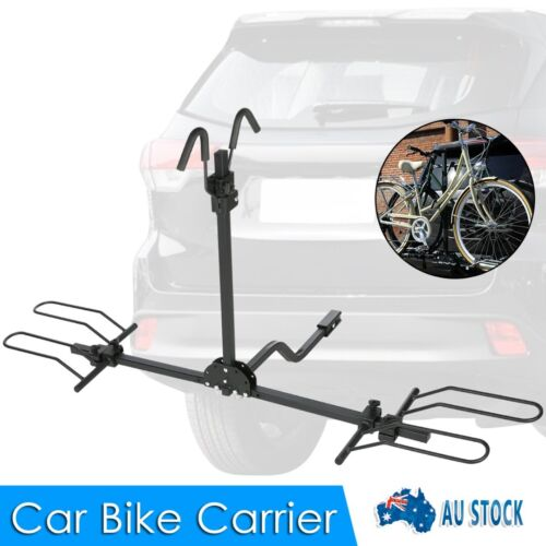 """New 2"""" Hitch Mount Foldable Rear Bike Rack For Car Platform Bicycle Carrier"""