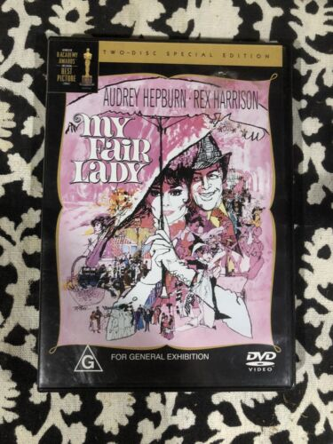 MY FAIR LADY Audrey Hepburn, Rex Harrison - 2 disc Special Edition DVD