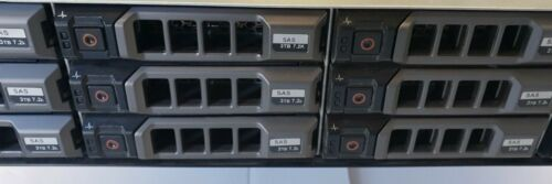 """Dell PowerVault MD1200 36TB Storage Array WITH 12 x 3TB 7.2K SAS 3.5"""" HDD"""