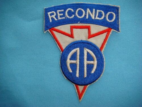 VIETNAM WAR PATCH. US 82nd AIRBORNE DIVISION RECONDO Patches - 104015