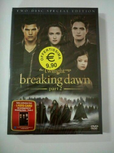 Breaking Dawn Parte 2 The Twilight Saga (2012) DVD