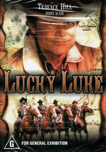 LUCKY LUKE - Terence Hill - DVD -R ALL - N&S - Never played -Original Oz release