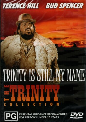 TRINITY IS STILL MY NAME - DVD - R ALL - N&S - Never played- Original Oz release