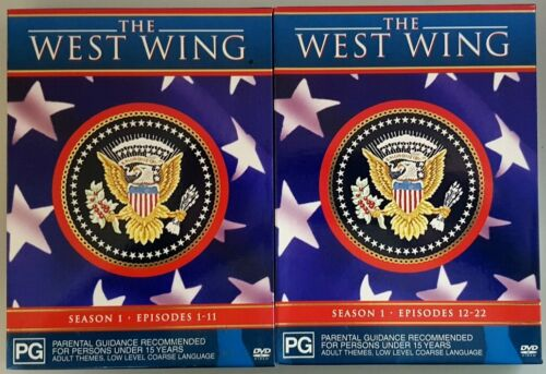 The West Wing - Complete Season 1 (6 Discs) DVD in GREAT condition (Region 4)