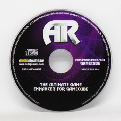 ACTION REPLAY AR - GAMECUBE GC GAME CUBE - PAL - TRUCOS ULTIMATE ENHANCER