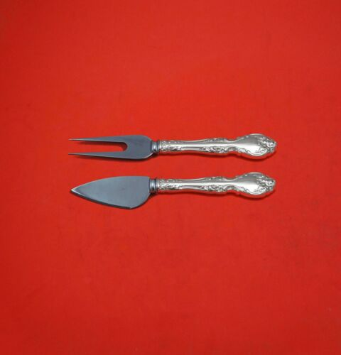 Melrose by Gorham Sterling Silver Hard Cheese Serving Set 2-Piece Custom Made