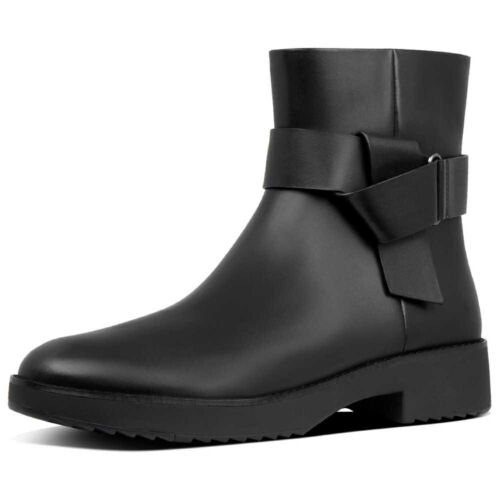 FITFLOP KNOT ANKLE BOOTS BOTAS Y BOTINES CALZADO MUJER NEGRO