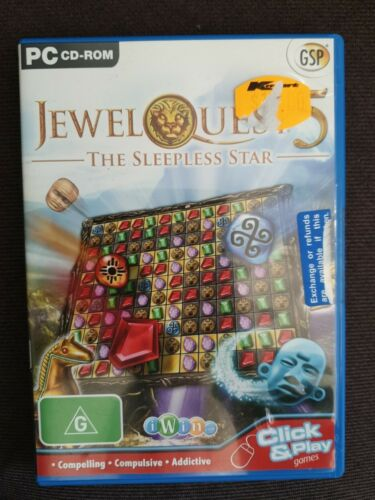 Jewel Quest 5 - The Sleepless Star - PC CD-ROM - Gem Matching Game