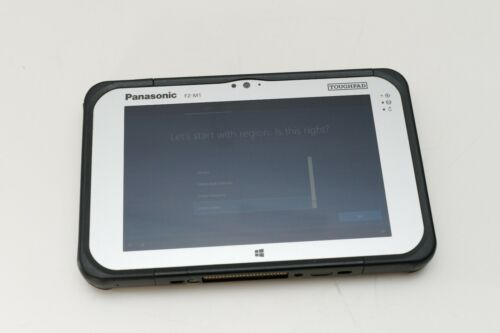 "Panasonic Toughpad FZ-M1 7"" Rugged Tablet Atom X5-Z8550/64GB Wifi+4G - Poor"