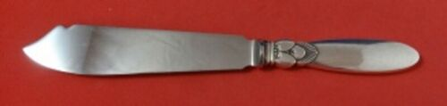 """Cactus by Georg Jensen Sterling Silver Cake Knife HH WS 9"""" Serving Silverware"""