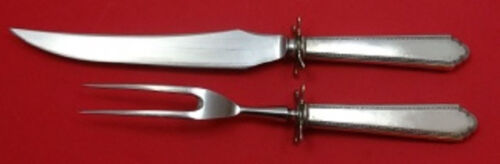 """William and Mary by Lunt Sterling Silver Steak Carving Set 2-piece HH WS 10 1/4"""""""