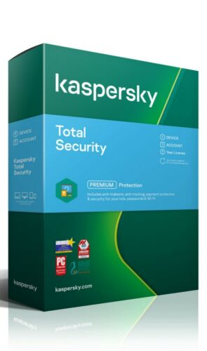 Kaspersky Total Security License 3 Device 1 year -  Key is E-Mailed