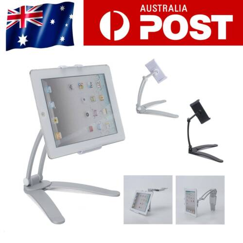 2 in 1 Tablet Stand Desktop Wall Mount Stand Bracket Holder for iPad Air iPhone