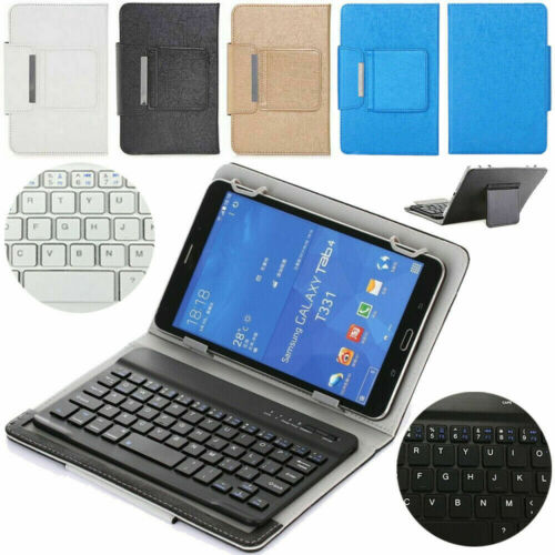 For Samsung Galaxy Tab A 8.0 SM-T290 T295 Bluetooth Keyboard Leather Case Cover