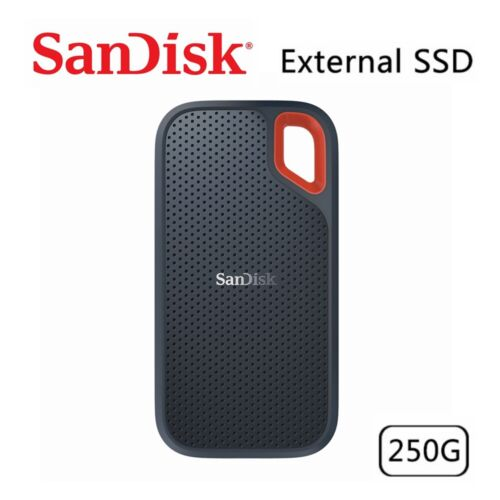 SSD SanDisk Extreme 250GB Portable External Solid State Drive USB 3.1 Type-C