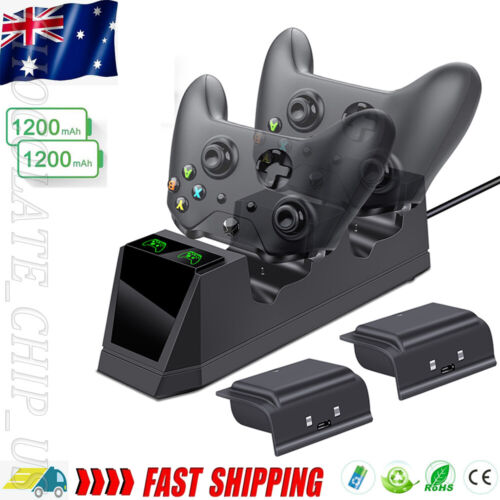 Battery Pack Rapid Dual Controller Charger For Xbox One /Xbox One S/Xbox One X